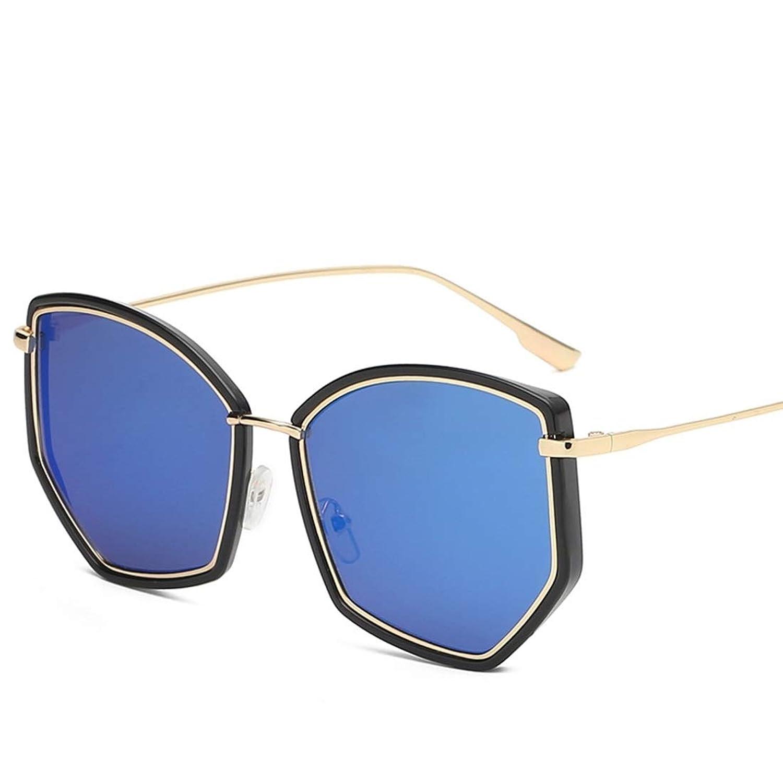 JOYS CLOTHING 男性女性のためのHdサングラス偏光特大フレームアンチグレアサングラス (Color : A)