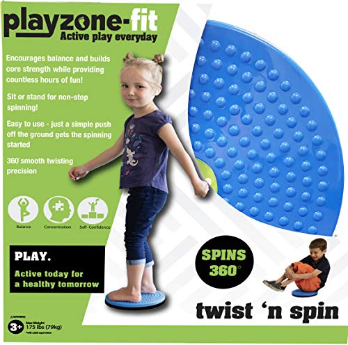 Playzone-fit Twist N Spin Ride-On