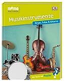 memo Wissen entdecken. Musikinstrumente: Orgel, Tuba, E-Gitarre. Das Buch mit Poster!