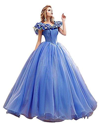 Off the Shoulder Glam Wedding Dress