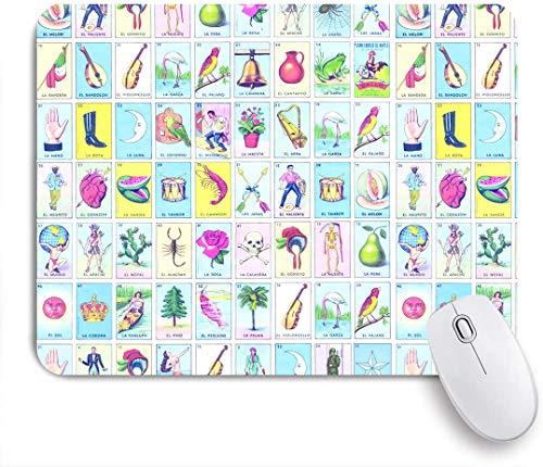 SUHOM Gaming Mouse Pad Rutschfeste Gummibasis,Loteria Badehose Kordelzug Elastische Taille,für Computer Laptop Office Desk,240 x 200mm