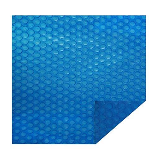 ZJM Cobertor Solar para Piscinas Cubierta de Piscina Solar Rectangular Azul, Manta Solar Flotante de Agua a Prueba de Polvo para Bañera de Hidromasaje, Tapete Protector de Piscina Invierno