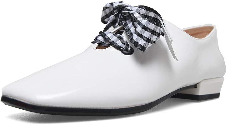 AdeeSu Womens Checkered Huarache Charms Urethane Pumps shoes SDC06205