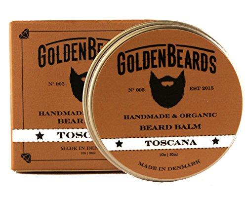 Golden Beards Organic Beard Baume Toscana 30 Ml