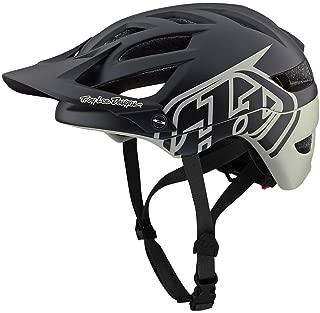 Troy Lee Designs Adult | Trail | Enduro | Half Shell A1 Classic Mountain Biking Helmet with MIPS (Medium/Large, Black/Stone)
