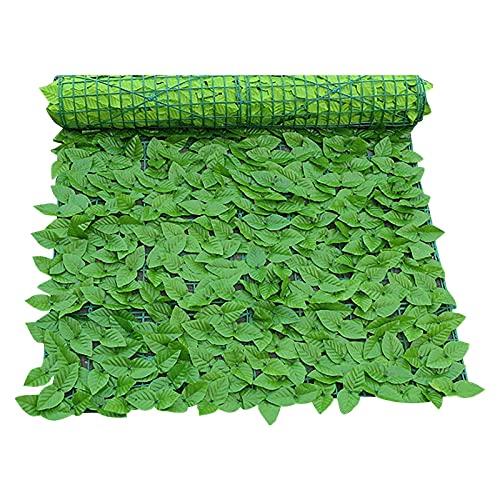 Obestseller Künstliche Hecke Blätterzaun Sichtschutz Balkon Umspannung Wanddekoration Pflanzen Hecke Garten gefälschte Gras Bildschirm Hintergrund für Outdoor-Dekor Garten