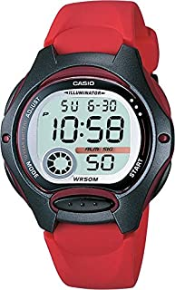 Casio LW-200-4AVCF Reloj para Mujer, color Rojo