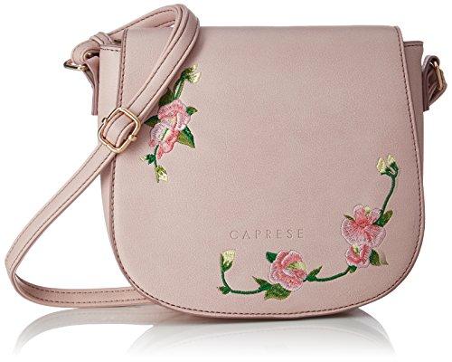 Caprese Elsy Women's Sling Bag (Powder Pink)