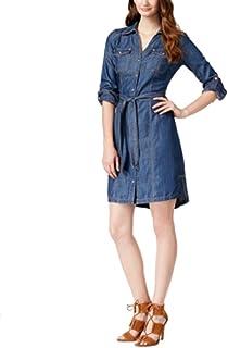 Private Label Inc International Concepts Petite Denim Shirtdress