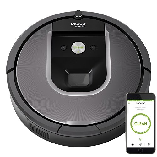 Review iRobot Roomba 960 Robot Vacuum- Wi-Fi Connected Mapping, Works with Alexa,  Ideal for Pet Hai...