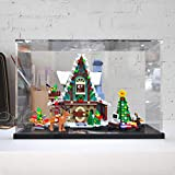 Sungvool Vitrina de acrílico transparente para Lego Elf Club House (10275) a prueba de polvo para Lego 10275 (juego Lego no incluido).