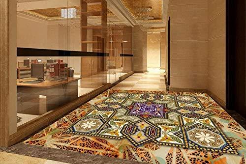 Alliance 3D Pattern Painting Floor Benutzerdefinierte 3D-Bodenkleber wasserdichte PVC dekorative Bodentapete 400x280cm