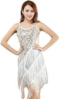 aa37cac1b Amazon.es: vestidos baile latino - Blanco