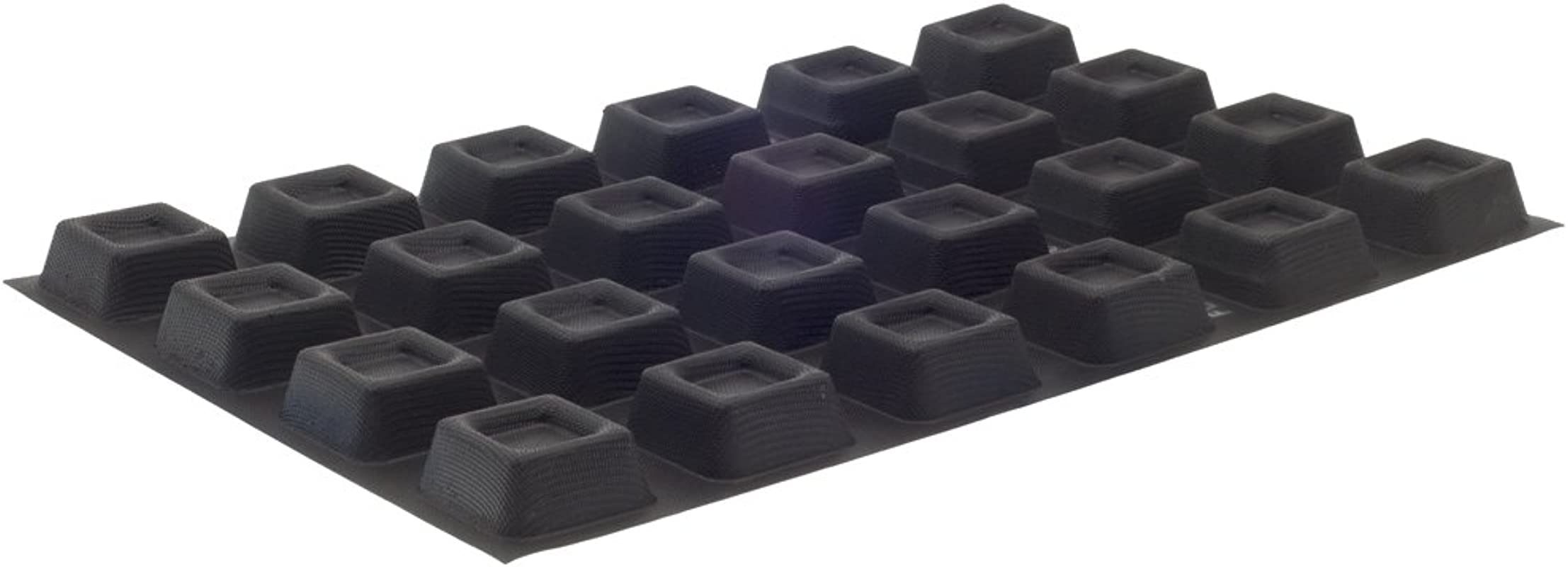 Demarle Flexipan Square Savarins 24 Forms