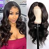 Amanda Hair 13×4 Lace Front Wigs 16 inch Brazilian Human Hair Body Wave Human...