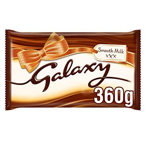 Galaxy Smooth Milk Chocolate Bar for Sharing, 360 g
