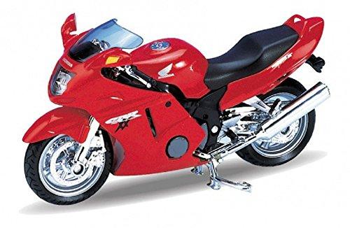 Welly DieCast Modell Motorrad Honda CBR1100XX rot Metall Motorradmodell 1:18