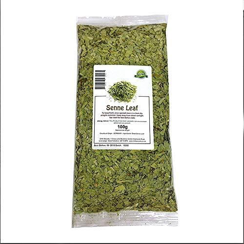 Senna Leaf Herbal Tea 100g - 500g - Chilli Wizards (100g)