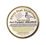 Athletes Foot Prevention Bar - All Natural Foot Deodorant Super Dry with Diatomaceous Earth, Tea Tree Oil, and Milk of Magnesia (MOM) 2 oz Solid Bar