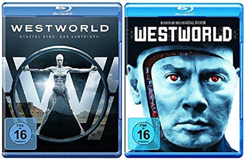 Westworld Staffel 1 Blu-ray Die Serie + Westworld Blu-ray Der Film