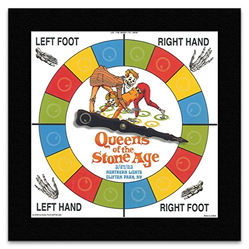 Stick It On Your Wall Mini-Poster Queen of The Stone Age - Spinner 2003, 23,5 x 24 cm