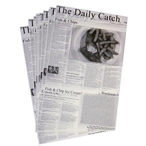 TAMLED Mini - Frittierkorb Servierschale Edelstahl Farbe Bronze (Papier Zeitung)