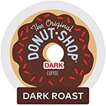 The Original Donut Shop Dark Keurig Single-Serve K-Cup Pods, Dark Roast Coffee, 72 Count