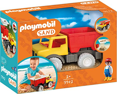Playmobil Sand 9142 Dump Truck for Children Ages 2+