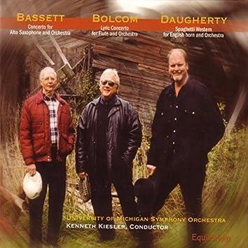 Concertos: Bassett, Bolcom, Daugherty