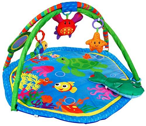 Sun Baby 27284 Paillasson avec coussin – Récif corallien Multicolore