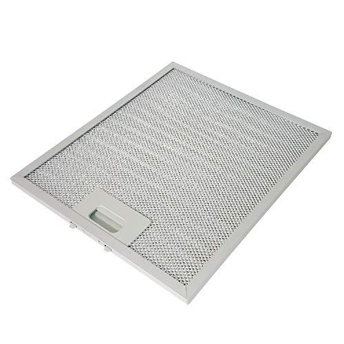 Metallfettfilter für Dunstabzugshauben, 300x250mm, Fettfilter mit Metallgitter für Küchenabzugshauben (1 Stück)