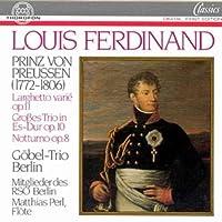 Larghetto Variations / Grobes Trio by FERDINAND LOUIS VON PRUSSIA (1988-05-01)