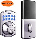 Best Digital Locks - Tacklife Keypad Electronic Deadbolt Door Lock, Keyless Entry Review