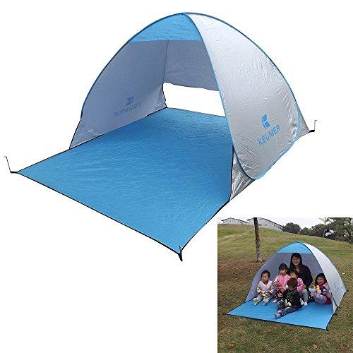 escomdp Giunto Bar Backpacking/Campeggio/Arrampicata outdoor tenda–2Person (Brillante Argento)