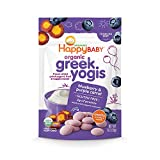 Happy Yogis Greek Yogurt Snacks, Organic Blueberry and Purple Carrot, 1 Ounce