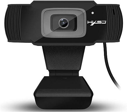 JIANG Fotocamera HD con Messa a Fuoco Automatica con Supporto da 5 Megapixel per videochiamate 720P 1080, Microfono a cancellazione del Rumore Incorporato e Messa a Fuoco Automatica Rapida - Trova i prezzi più bassi