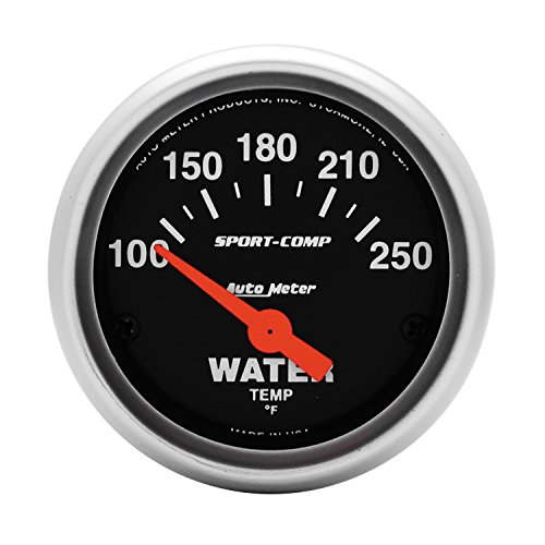 Auto Meter 3337 Sport-Comp Electric Water...