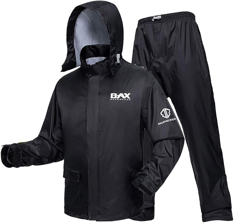 Regenmantel für Erwachsene Regenjacke Anzug Gemütlich Atmungsaktiv Winddicht Leicht zum Herren zum Camping Bergsteigen Reise Sport Radfahren