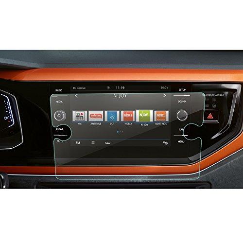LFOTPP Compatibile con 8 Pollici Navigazione Pellicola Protettiva in Vetro VW Nuova Polo