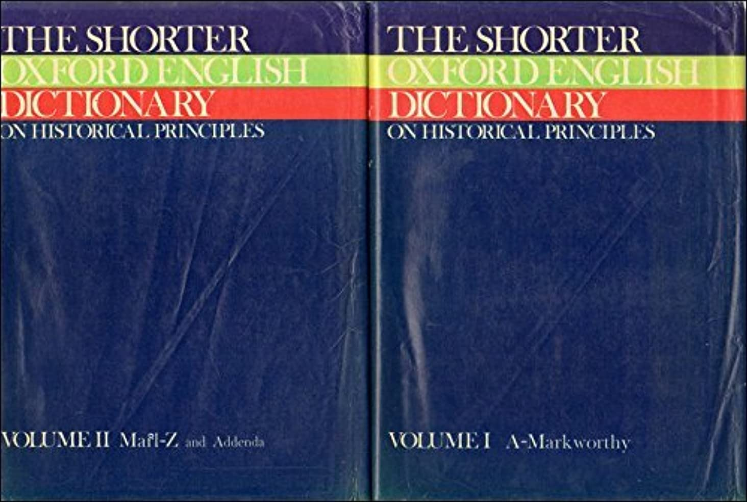 The Shorter Oxford English Dictionary (Plain) by William Little (1973-11-22)