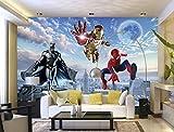 Spider Man Photo Papier Peint Personnalisé 3d Papier Peint Marvel Films Peintures Murales Super...