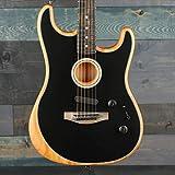 Fender AMERICAN ACOUSTASONIC STRATOCASTER BLACK #US199270