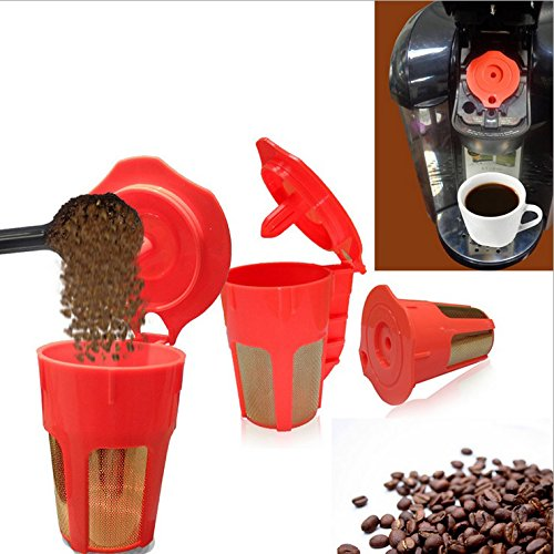 Keurig 2.0 K-Carafe Reusable Replacement Coffee Filter for Keurig 2.0...
