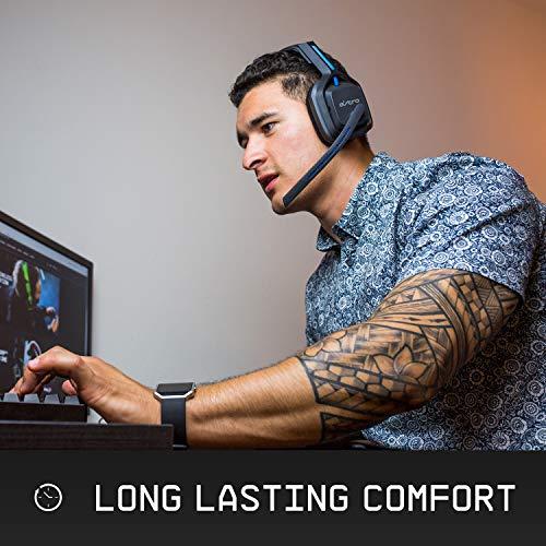 Astro Gaming A20 - Auriculares Gaming Inalámbricos, Astro Audio, Transductores 40 mm, Dolby Atmos/Windows Sonic 3D, 5 GHz, Batería Larga 15 h, Microfóno Volteable para Silenciar, PC/Mac/Xbox One