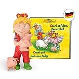 tonies Hörfigur für Toniebox Figur mit Conni Hörspiel - auf dem Bauernhof und Conni und das Neue...