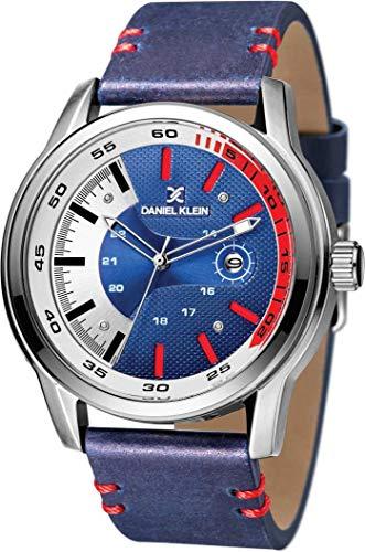 Daniel Klein Analog Blue Dial Men's Watch-DK11323-5