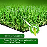 SunVilla SV7'X13' Realistic Indoor/Outdoor Artificial Grass/Turf 7 FT X 13 FT...
