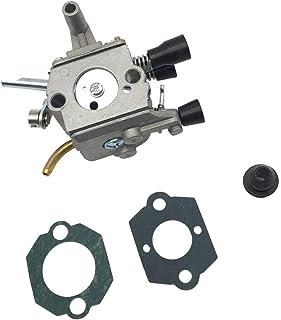 Tubayia Carburador de repuesto con junta para Stihl FS120 FS120R FS200 FS200R FS020 FS202 TS200 FS250 FS250R FS300 FS350 F...
