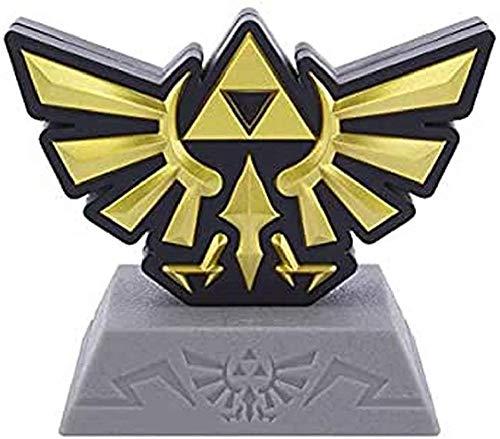 Paladone - Mini-Lampe Icon Gaming (Legende von Zelda) Wappen Hyrule Familie Real. Das Symbol der königlichen Familie ist eine gemeinsame Darstellung von Triforce über einem Vogel.