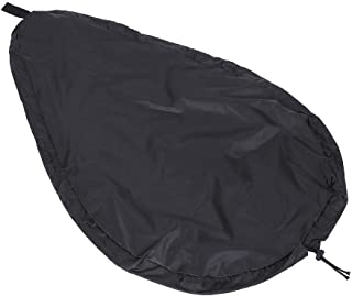 Bnineteenteam Universal Kayak Cockpit Cover -UV50+ Blocking Kayak Seal Cockpit Protector for Indoor and Outdoor(Black)